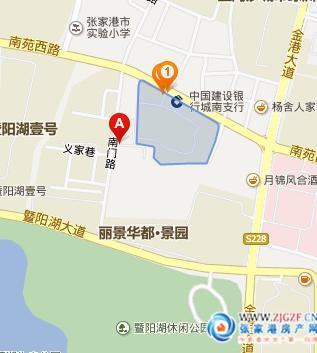 张家港南城花园实景照片