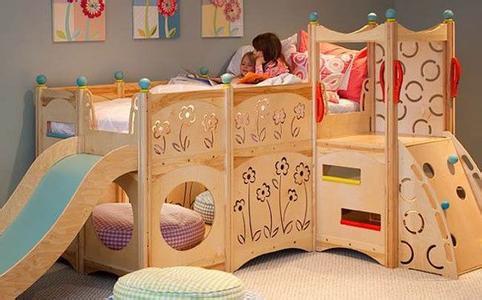 二胎儿童房设计根据户型选择合适床位