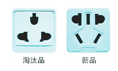 插座面板矢量图