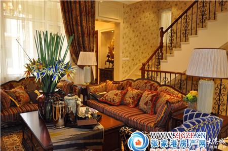 新珑湾别墅美式装修风格样板房g户型335㎡踩盘日记