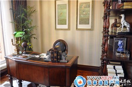 新珑湾别墅美式装修风格样板房G户型335㎡踩盘日记高清图片