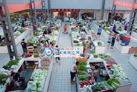 南沙农贸市场小区照片