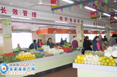 张家港西张栏杆桥菜场小区照片