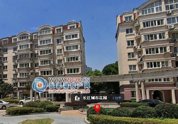 张家港长江新城小区照片