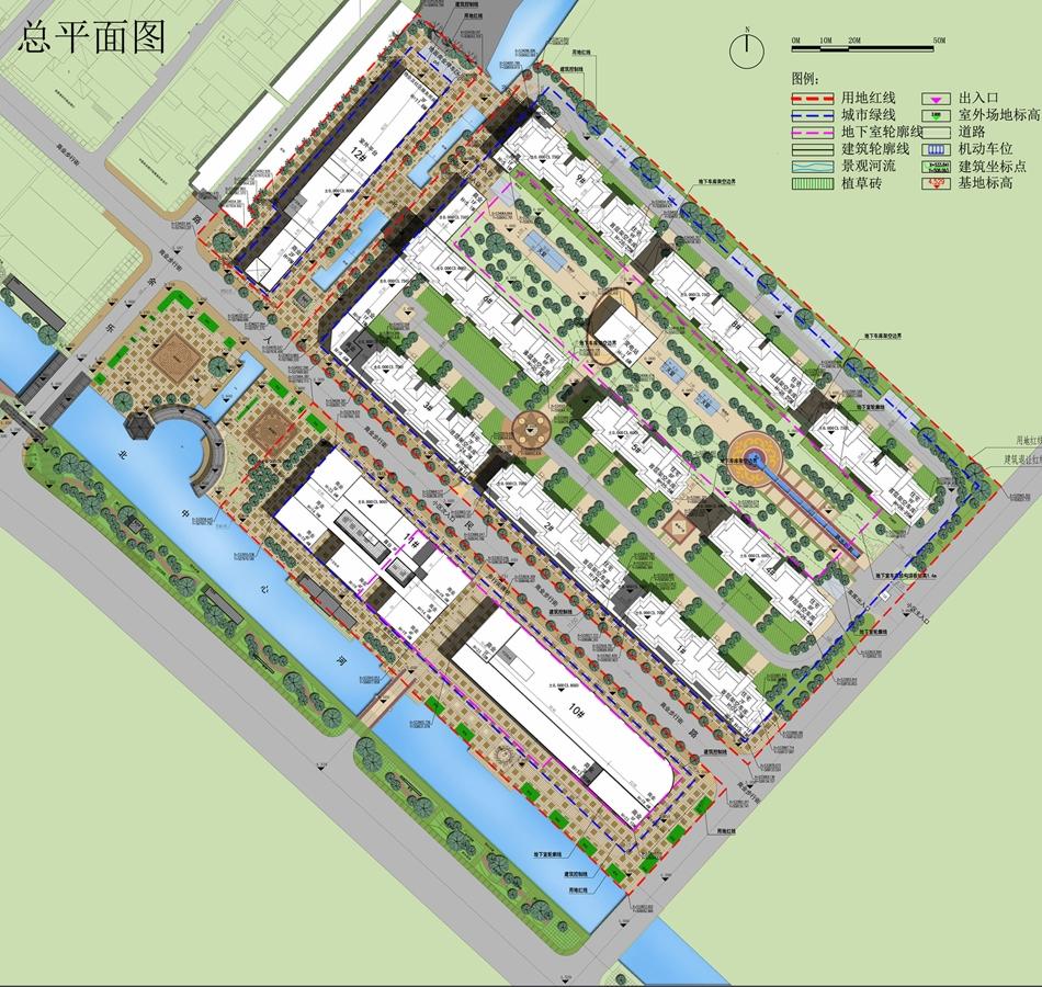 张家港市乐余镇乐悦广场规划建筑设计方案公示