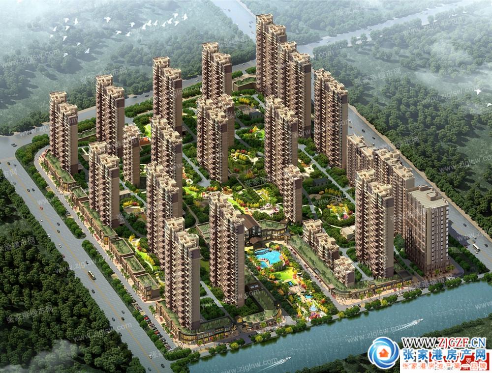 《张家港碧桂园建筑设计方案调整》批前公示