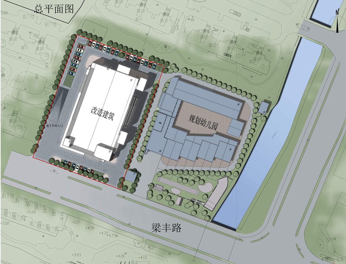 张家港《七里庙菜场改造建筑设计方案》批前公示