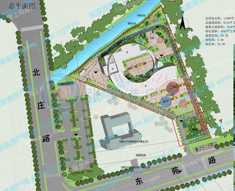 张家港市《北庄幼儿园设计方案》批前公示图片