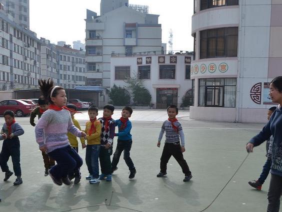 张家港沙洲小学实景照片